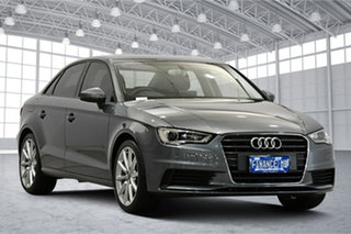 2014 Audi A3 8V MY14 Attraction S Tronic Grey 7 Speed Sports Automatic Dual Clutch Sedan.