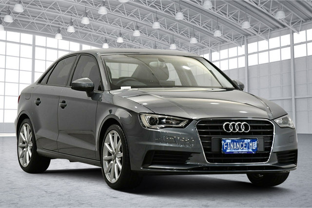 Used Audi A3 8V MY14 Attraction S Tronic Victoria Park, 2014 Audi A3 8V MY14 Attraction S Tronic Grey 7 Speed Sports Automatic Dual Clutch Sedan