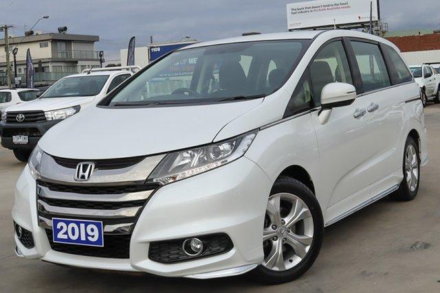 Used Honda Odyssey RC MY19 VTi Coburg North, 2019 Honda Odyssey RC MY19 VTi White 7 Speed Constant Variable Wagon