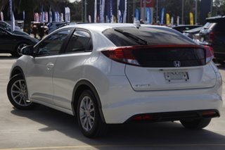 2013 Honda Civic 9th Gen MY13 VTi-S White 6 Speed Manual Hatchback.