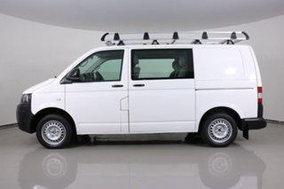 2014 Volkswagen Transporter T5 MY14 TDI 340 Crewvan LWB White 7 Speed Auto Direct Shift Van