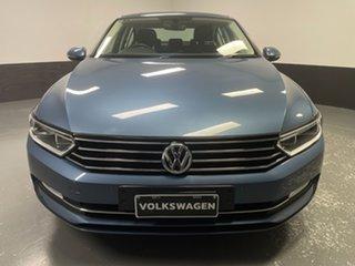 2016 Volkswagen Passat 3C (B8) MY16 132TSI DSG Harvard Blue 7 Speed Sports Automatic Dual Clutch.
