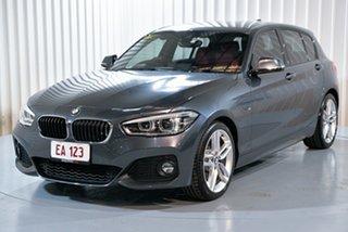 2016 BMW 1 Series F20 LCI 120i Steptronic Sport Line Grey 8 Speed Sports Automatic Hatchback.