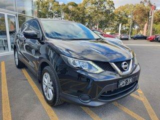 2017 Nissan Qashqai J11 ST Black 1 Speed Constant Variable Wagon.