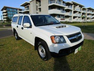2008 Holden Colorado RC MY09 LX (4x2) White 5 Speed Manual Crew Cab Pickup.