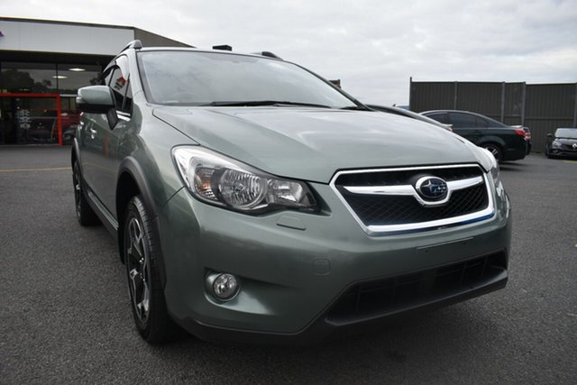 Used Subaru XV G4X MY15 2.0i-S Lineartronic AWD Wantirna South, 2015 Subaru XV G4X MY15 2.0i-S Lineartronic AWD Green 6 Speed Constant Variable Wagon