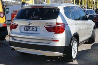 2013 BMW X3 F25 MY1112 xDrive20d Steptronic Silver 8 Speed Automatic Wagon