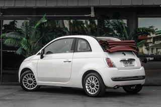 2012 Fiat 500 Series 1 White 5 Speed Manual Hatchback.