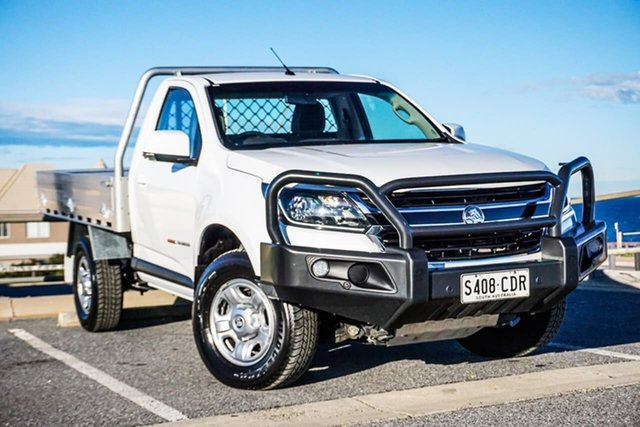 Used Holden Colorado RG MY19 LS Christies Beach, 2019 Holden Colorado RG MY19 LS White 6 Speed Sports Automatic Cab Chassis