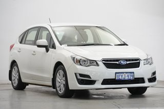 2016 Subaru Impreza G4 MY16 2.0i Lineartronic AWD Crystal Pearl 6 Speed Constant Variable Hatchback