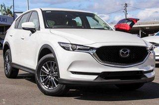 2021 Mazda CX-5 KF4WLA Maxx SKYACTIV-Drive i-ACTIV AWD Sport White 6 Speed Sports Automatic Wagon.