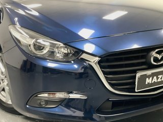 2016 Mazda 3 BM5476 Maxx SKYACTIV-MT Blue 6 Speed Manual Hatchback.