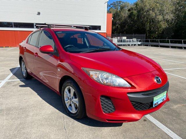 Used Mazda 3 BL Series 2 MY13 Neo Morayfield, 2013 Mazda 3 BL Series 2 MY13 Neo Red 5 Speed Automatic Sedan