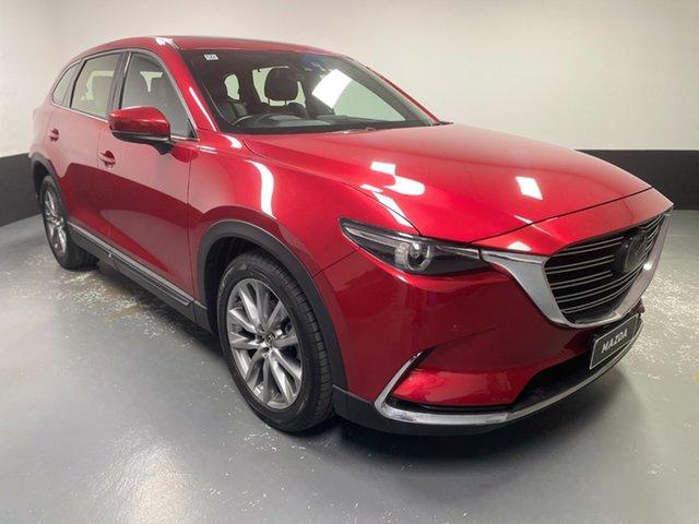 Used Mazda CX-9 TC Azami SKYACTIV-Drive i-ACTIV AWD Hamilton, 2017 Mazda CX-9 TC Azami SKYACTIV-Drive i-ACTIV AWD Metallic Red 6 Speed Sports Automatic Wagon