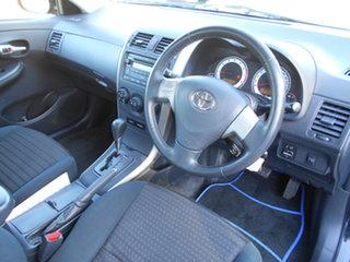 2007 Toyota Corolla ZRE152R Ascent Black 4 Speed Automatic Sedan.