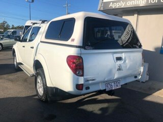 2013 Mitsubishi Triton White Automatic Dual Cab.