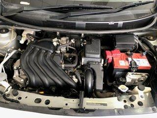 2010 Nissan Micra K13 ST-L Purplish Silver Tpm 4 Speed Automatic Hatchback