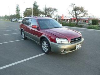 2001 Subaru Outback 2Gen Burgundy Automatic Wagon.