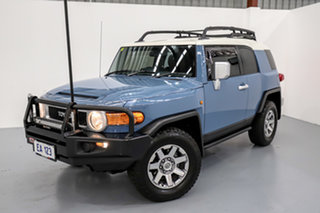2014 Toyota FJ Cruiser GSJ15R MY14 Blue 5 Speed Automatic Wagon.