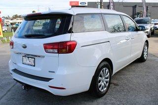 2016 Kia Carnival YP MY17 S White 6 Speed Sports Automatic Wagon