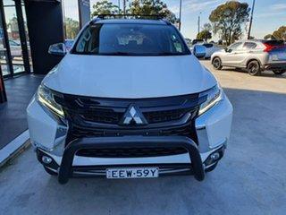 2018 Mitsubishi Pajero Sport QE MY19 Black Edition White 8 Speed Sports Automatic Wagon