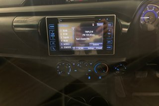 2017 Toyota Hilux GUN126R SR Glacier 6 speed Automatic Cab Chassis