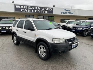2002 Ford Escape BA XLT White 4 Speed Automatic Wagon.