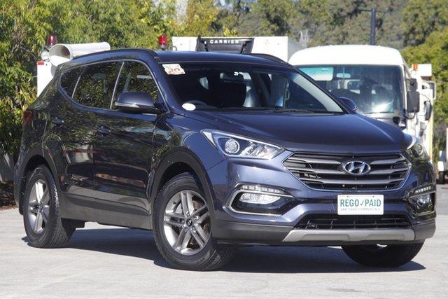 Used Hyundai Santa Fe DM3 MY16 Active Robina, 2015 Hyundai Santa Fe DM3 MY16 Active Grey 6 speed Automatic Wagon
