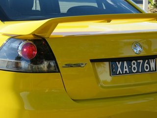 2011 Holden Commodore VE II SS V Yellow 6 Speed Sports Automatic Sedan