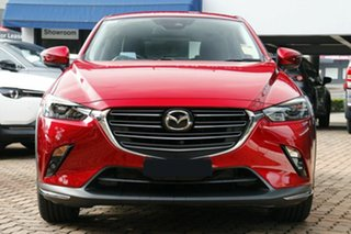 2021 Mazda CX-3 DK4W7A Akari SKYACTIV-Drive i-ACTIV AWD LE Soul Red Crystal 6 Speed Sports Automatic