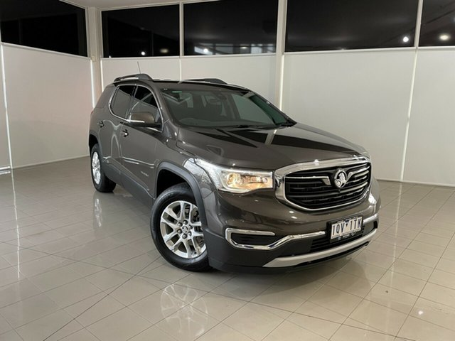 Used Holden Acadia AC MY19 LT 2WD Deer Park, 2019 Holden Acadia AC MY19 LT 2WD Brown 9 Speed Sports Automatic Wagon