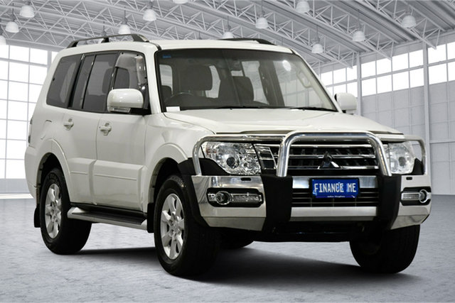 Used Mitsubishi Pajero NX MY19 GLX Victoria Park, 2019 Mitsubishi Pajero NX MY19 GLX Warm White 5 Speed Sports Automatic Wagon