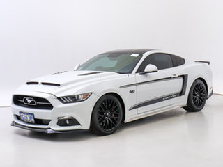 2017 Ford Mustang FM MY17 Fastback GT 5.0 V8 White 6 Speed Automatic Coupe.