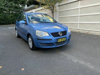 2007 Volkswagen Polo 9N MY2007 Match Blue 6 Speed Sports Automatic Hatchback.