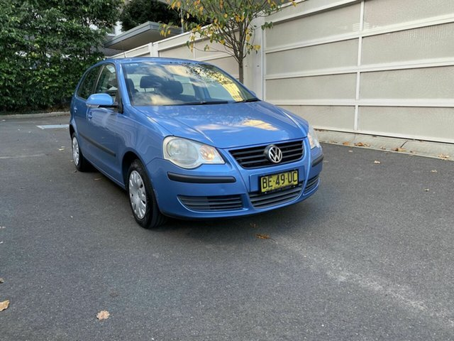 Used Volkswagen Polo 9N MY2007 Match Zetland, 2007 Volkswagen Polo 9N MY2007 Match Blue 6 Speed Sports Automatic Hatchback