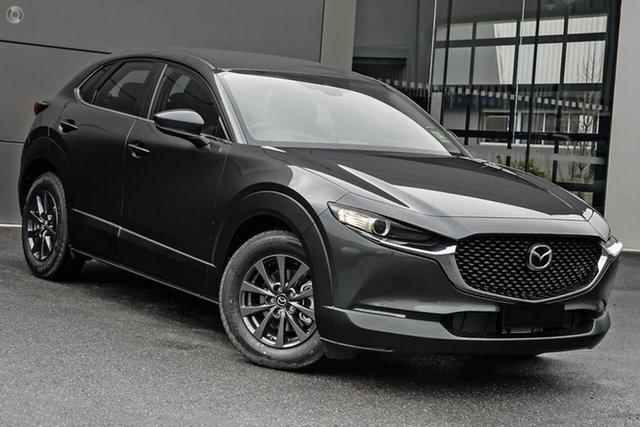 New Mazda CX-30 DM2W7A G20 SKYACTIV-Drive Pure Waitara, 2021 Mazda CX-30 DM2W7A G20 SKYACTIV-Drive Pure Grey 6 Speed Sports Automatic Wagon