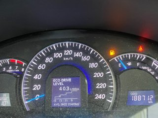 2012 Toyota Aurion GSV50R Presara White 6 Speed Sports Automatic Sedan