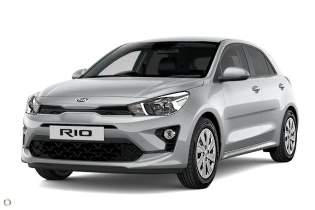 New Kia Rio YB MY21 S Reynella, 2021 Kia Rio YB MY21 S Silver 6 Speed Automatic Hatchback