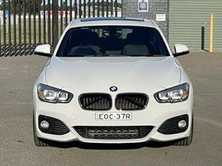 2015 BMW 1 Series F20 LCI 118d Steptronic M Sport White 8 Speed Sports Automatic Hatchback.