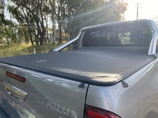 2021 Toyota Hilux GUN126R SR5 Double Cab Silver Sky 6 Speed Sports Automatic Utility