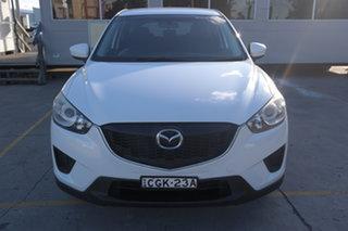 2012 Mazda CX-5 KE1071 Maxx SKYACTIV-Drive White 6 Speed Sports Automatic Wagon.