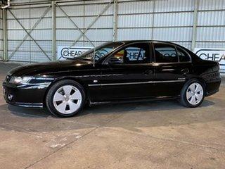 2005 Holden Calais VZ Black 5 Speed Sports Automatic Sedan.