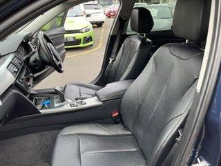 2012 BMW 320d F30 320d Blue 8 Speed Sports Automatic Sedan