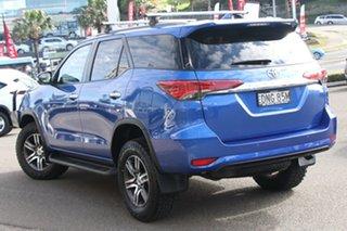 2017 Toyota Fortuner GUN156R GXL Blue 6 Speed Automatic Wagon.