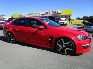 2010 Holden Special Vehicles GTS E Series 2 Red 6 Speed Manual Sedan.