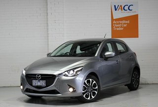 2016 Mazda 2 DJ2HAA Genki SKYACTIV-Drive Grey 6 Speed Sports Automatic Hatchback.