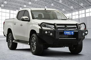 2020 Mitsubishi Triton MR MY20 GLS Double Cab White 6 Speed Sports Automatic Utility.