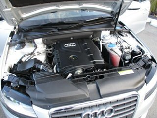 2010 Audi A4 Silver 6 Speed Auto Active Select Wagon