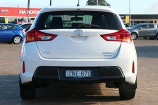 2013 Toyota Corolla ZRE182R Ascent White 6 Speed Manual Hatchback