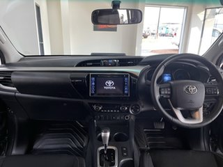 2019 Toyota Hilux GUN126R SR5 Double Cab Charcoal 6 Speed Sports Automatic Utility
